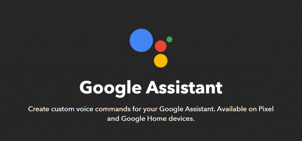 google home assistant ifttt