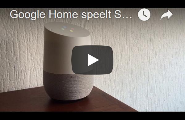 muziek op google home
